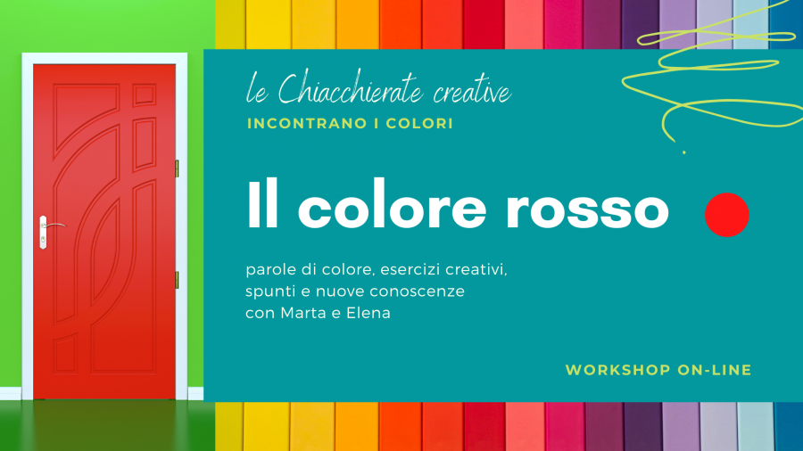 workshop colori parole arteterapia online